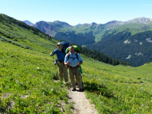 Day 3 Tuesday – base of Trail Rider Pass to beaver pond